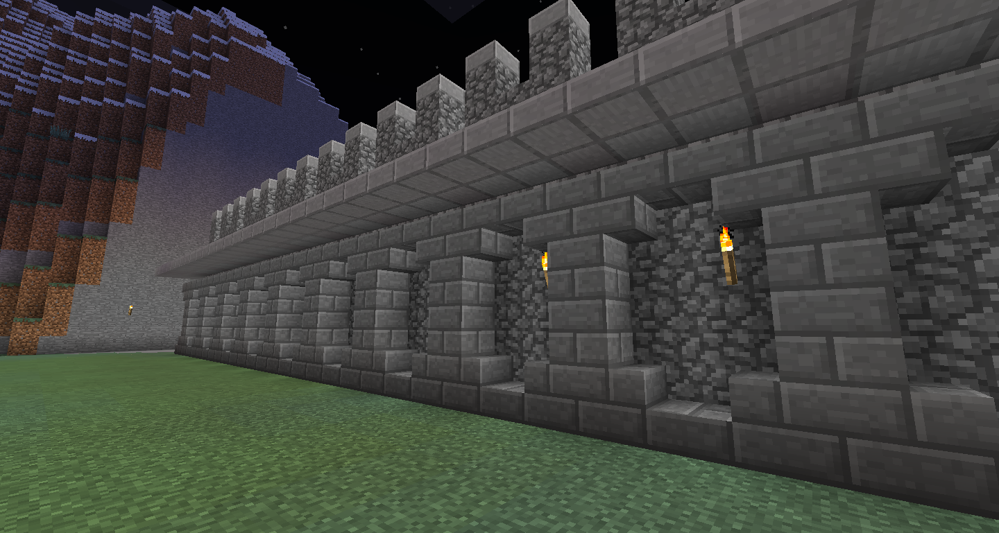 Fortified Wall Upclose
